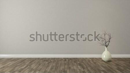 Duvar kuru bitki oda dekorasyon Stok fotoğraf © sedatseven