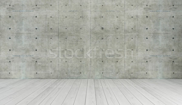 concrete wall loft style decor, background, template design Stock photo © sedatseven