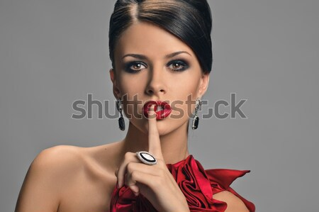 chic lady Stock photo © seenad