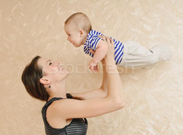 play with baby Stock photo © seenad