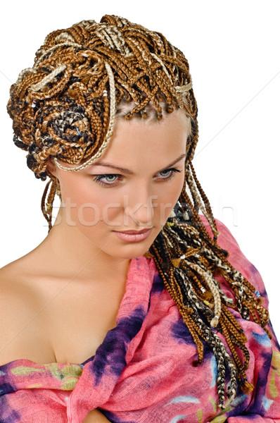 african plaits Stock photo © seenad