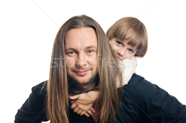 father and son Stock photo © seenad