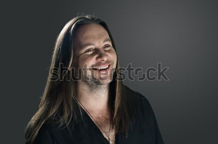 Casual happy man Stock photo © seenad