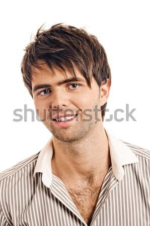 young casual man portrait Stock photo © seenad