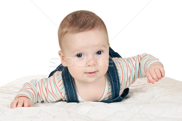 little boy Stock photo © seenad