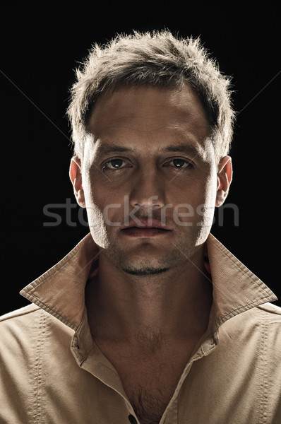 man face Stock photo © seenad