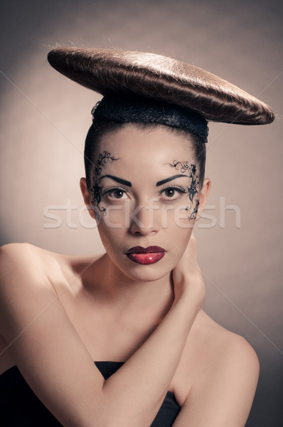 disc coiffure  Stock photo © seenad