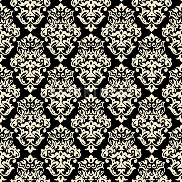 フローラル 抽象的な テクスチャ デザイン 葉 ストックフォト © SelenaMay