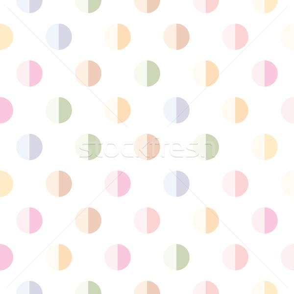 Soyut geometrik web baskı halı Stok fotoğraf © SelenaMay