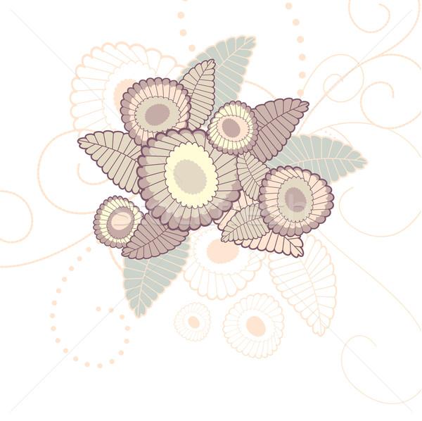 Sevimli çiçek bahar soyut güzellik Stok fotoğraf © SelenaMay