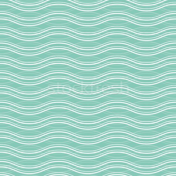 Géométrique vague magnifique textiles web Photo stock © SelenaMay
