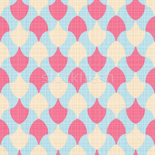 Colorato abstract tessili geometrica texture Foto d'archivio © SelenaMay