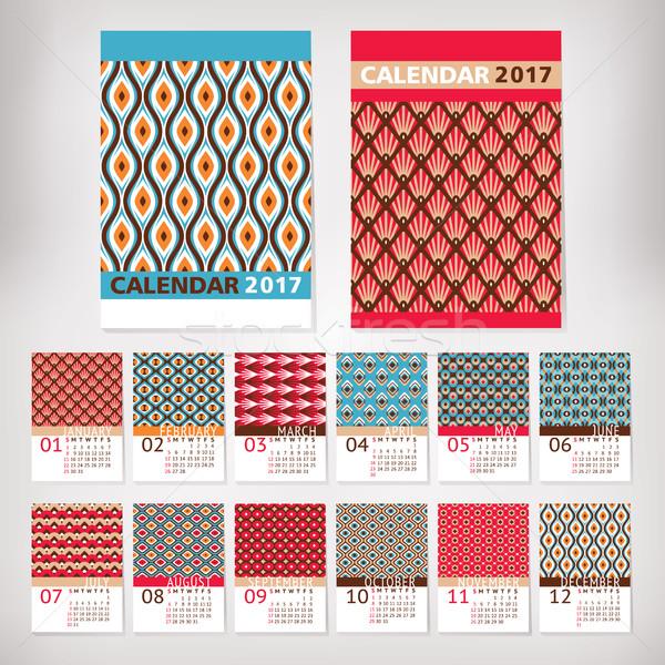 年 スタイリッシュ カレンダー オフィス 春 デザイン ストックフォト © SelenaMay