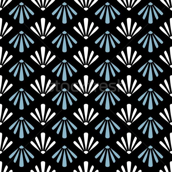 抽象的な 幾何学的な 繊維 ウェブ ストックフォト © SelenaMay