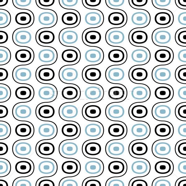 Soyut geometrik muhteşem tekstil web Stok fotoğraf © SelenaMay