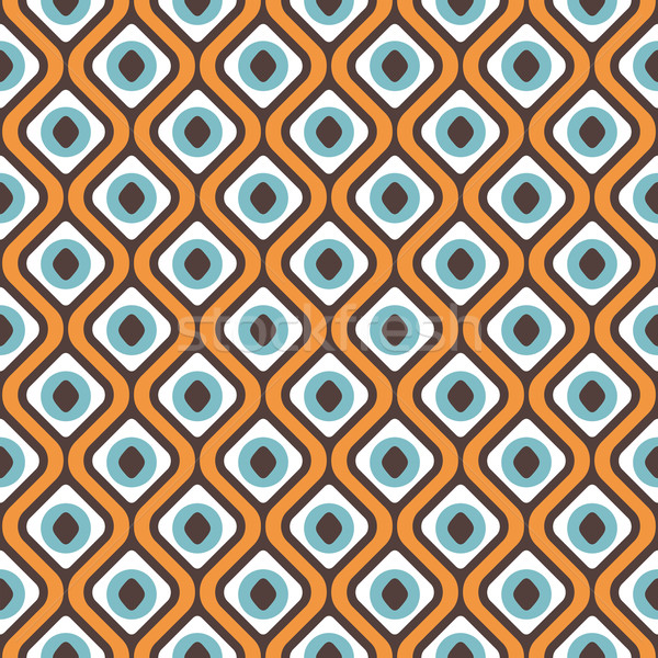 Abstract geometric seamless pattern Stock photo © SelenaMay