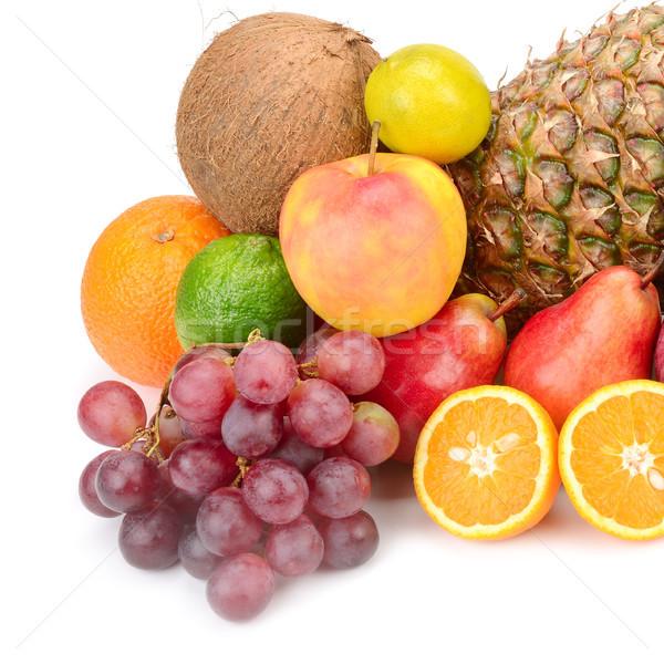 коллекция плодов овощей изолированный белый фон Сток-фото © serg64