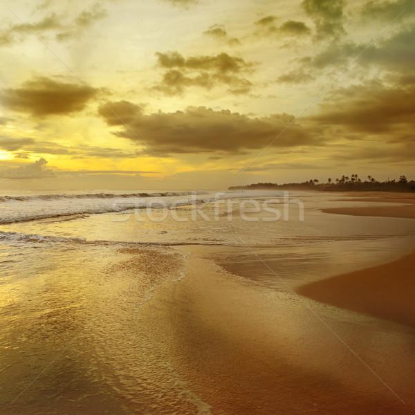 sunrise over the ocean Stock photo © serg64