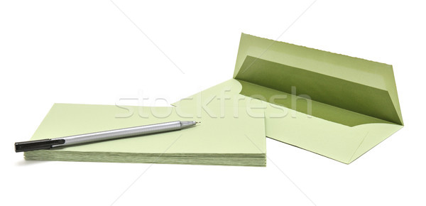 pen and cover Stock photo © serg64