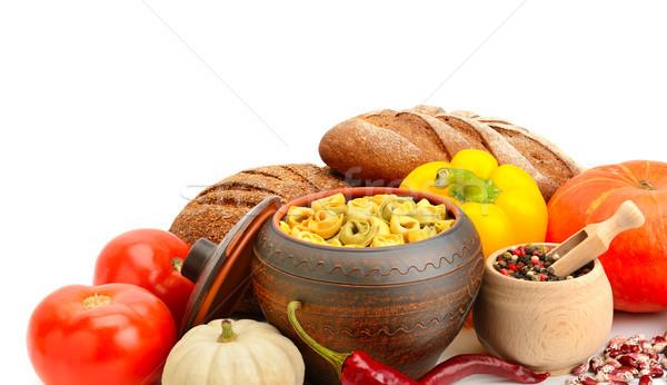 Utile produits légumes épices ravioli Photo stock © serg64