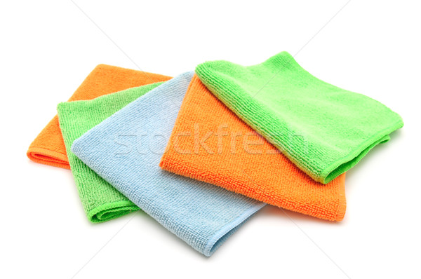 Colorful cloths microfiber Stock photo © Serg64