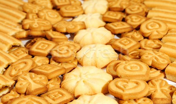 Banketbakkerij producten voedsel chocolade diner snoep Stockfoto © Serg64