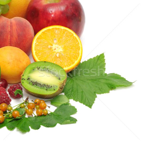 Stock photo: Fresh fruits
