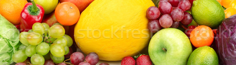 fruits and vegetables background      Stock photo © Serg64