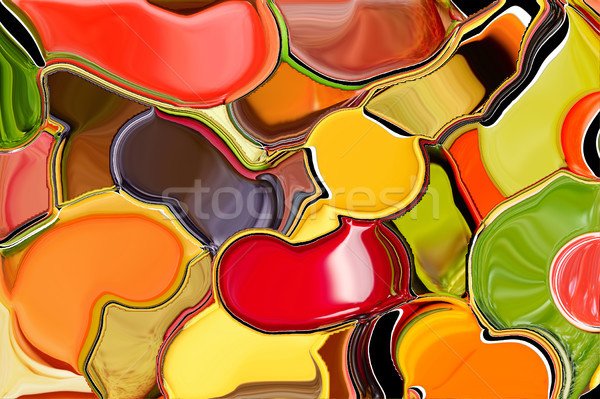 Abstract background like smeared paint on the palette Stock photo © serg64