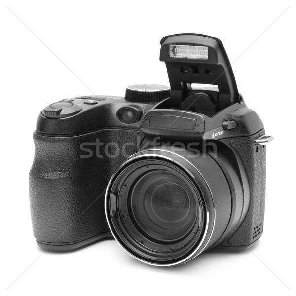 Izolált fehér technológia fekete digitális fotó Stock fotó © serg64