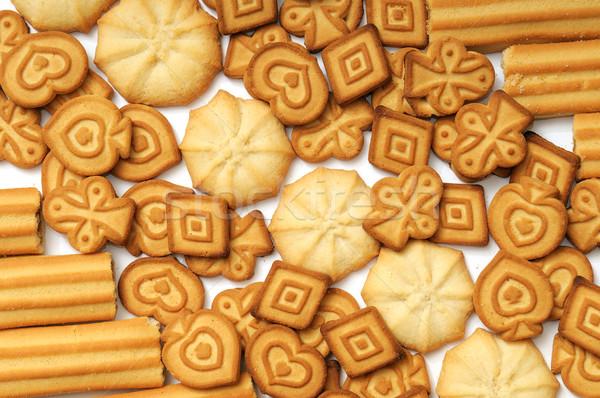 Wyroby cukiernicze produktów żywności czekolady grupy obiedzie Zdjęcia stock © Serg64