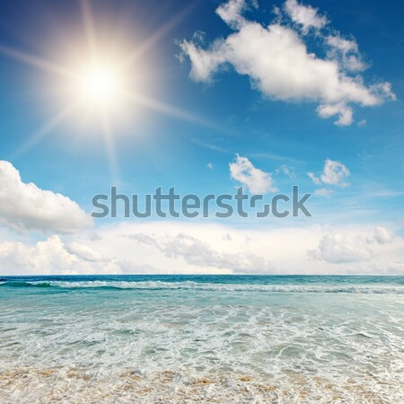 sea waves and blue sky Stock photo © Serg64