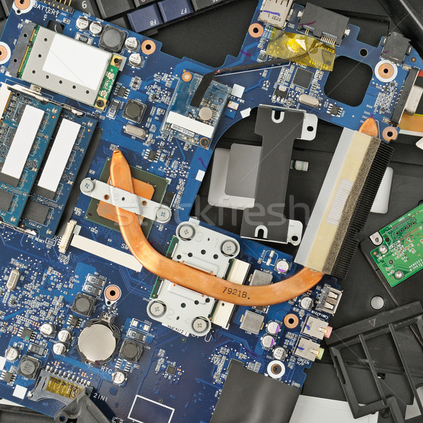 disassembled computer Stock photo © Serg64
