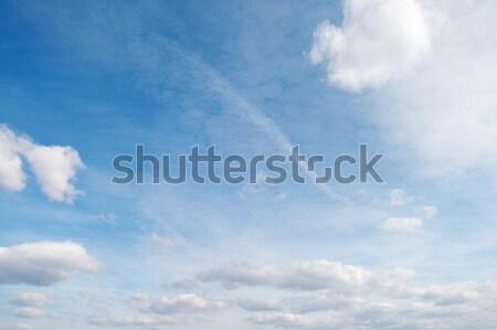 beautiful white cloud Stock photo © serg64