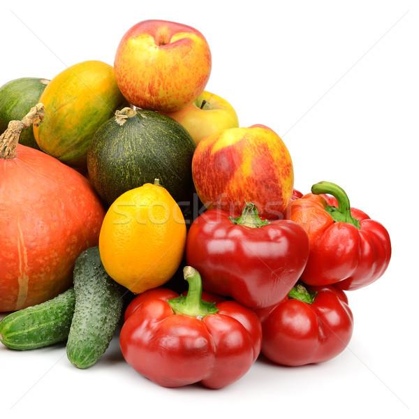 свежие плодов овощей изолированный белый Сток-фото © serg64