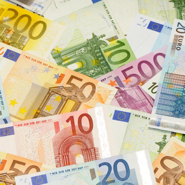 background from euro Stock photo © Serg64