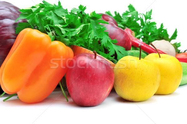 Meyve sebze yalıtılmış beyaz meyve bahçe Stok fotoğraf © Serg64