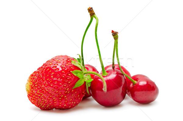 Anime eprek izolált fehér gyümölcs nyár Stock fotó © serg64