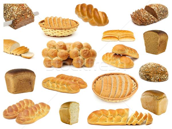 set breads Stock photo © Serg64