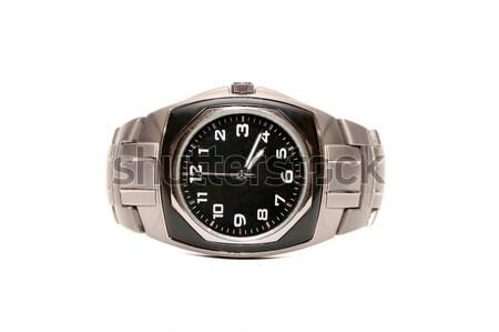 Karóra izolált fehér kéz óra technológia Stock fotó © Serg64