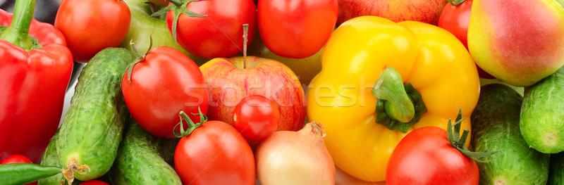 Vruchten groenten witte vruchten groene groep Stockfoto © serg64