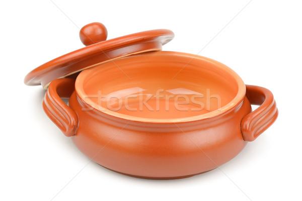 clay pot Stock photo © Serg64