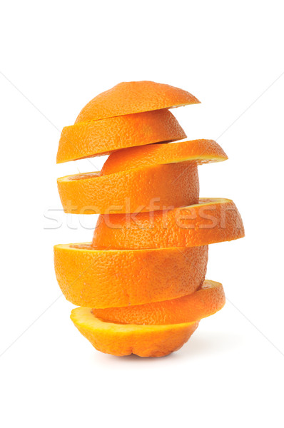 cut orange Stock photo © Serg64