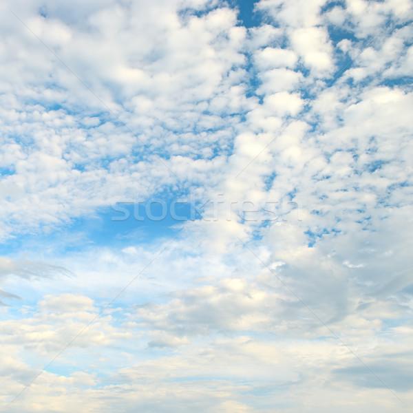 Fehér felhő kék ég felhők tavasz fény Stock fotó © serg64