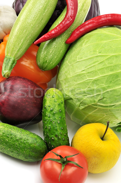 vegetables and fruits Stock photo © serg64