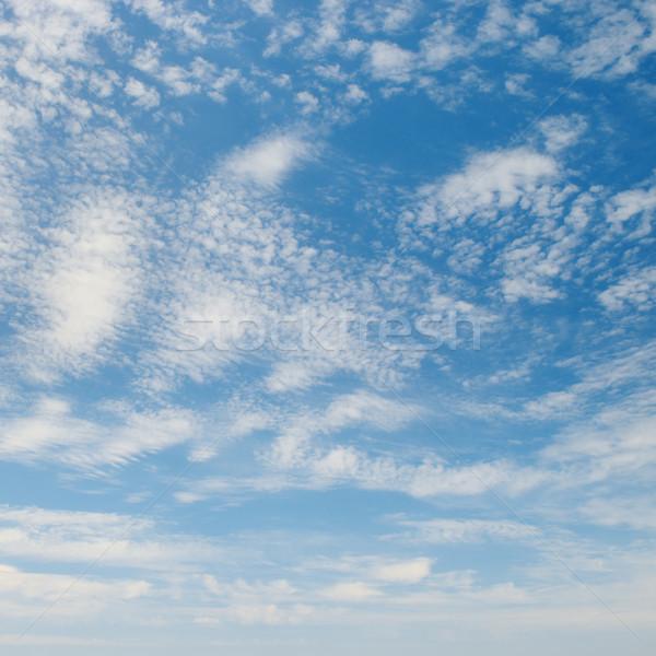 Bulutlar mavi gökyüzü bahar ışık yaz mavi Stok fotoğraf © serg64
