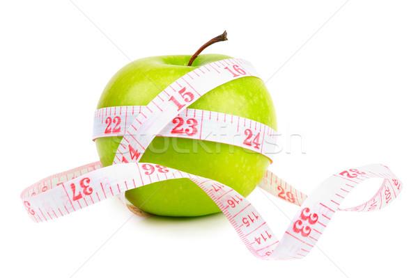 green apple and measure tape  Stock photo © Serg64