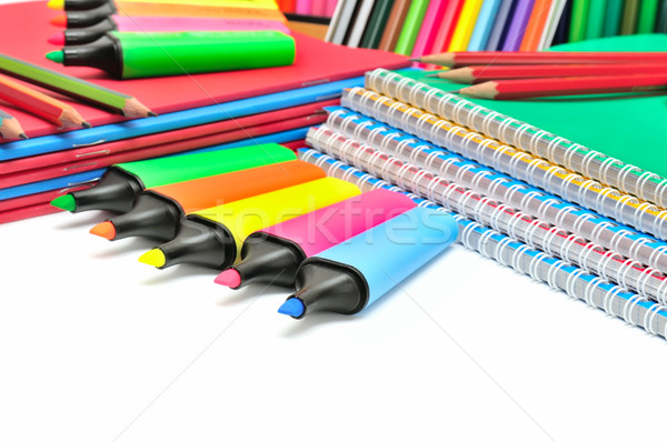 collection stationery  Stock photo © Serg64