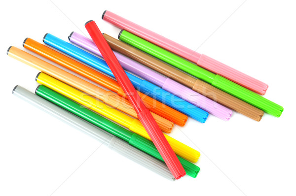 Stock photo: soft-tip pen