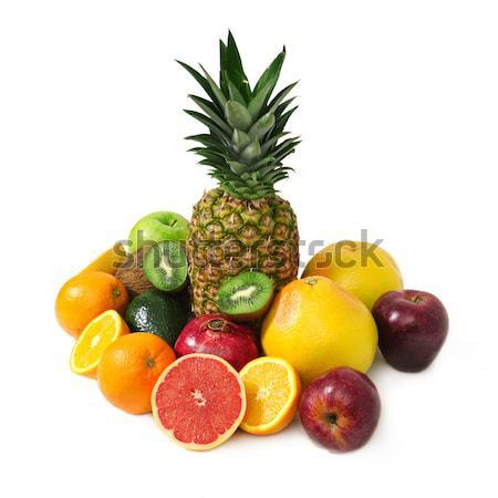 Gyümölcsök izolált fehér természet gyümölcs narancs Stock fotó © Serg64